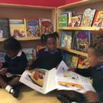 At work in the library with Grade R